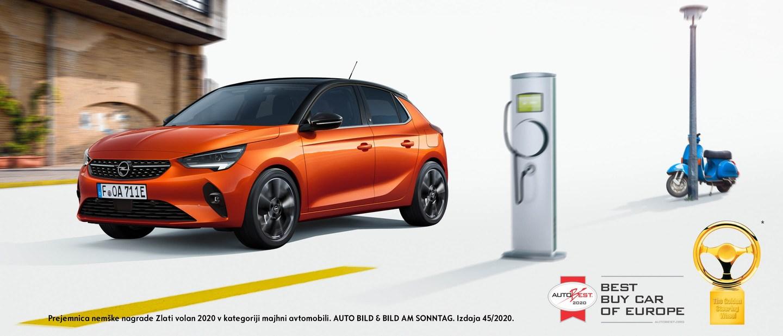 Osebna vozila - Opel Corsa-e